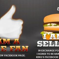 Burger King perde 30 mil fãs em ação no Facebook
