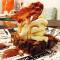 RECEITA – Brownie de Chocolate com Bacon e calda de Jack Daniel's