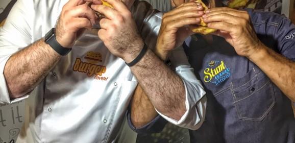 Hambúrguer Perfeito no Stunt Burger Xperience