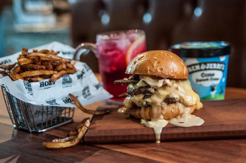 the burger league holy burger