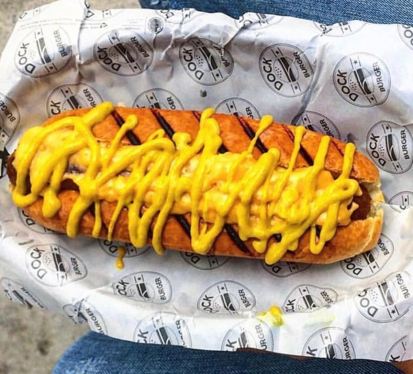 dock hot dog