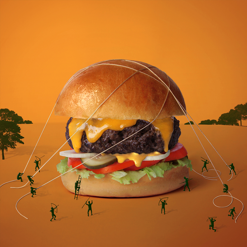 Le Big Fat & Furious Burger