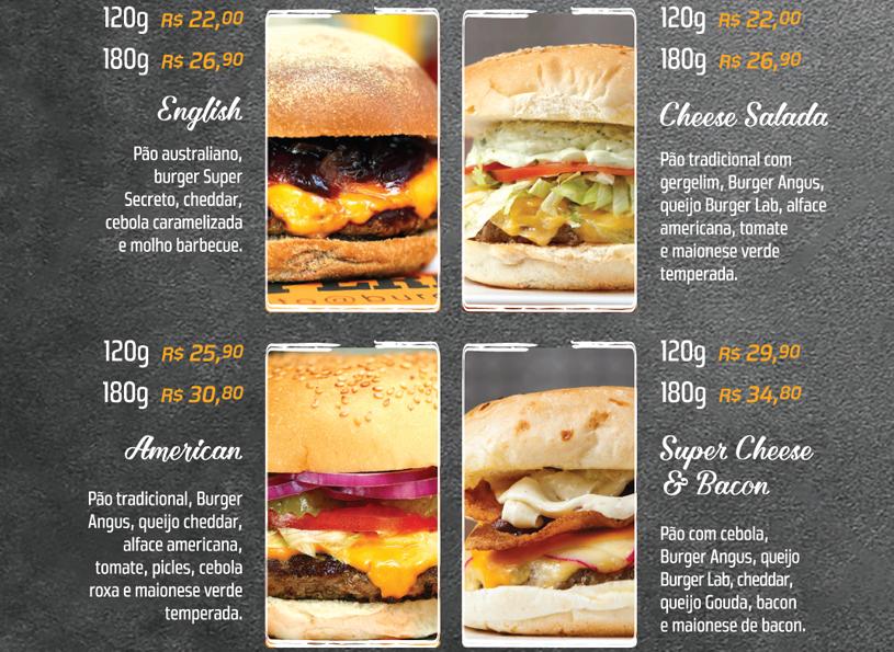 american e english burger lab experience
