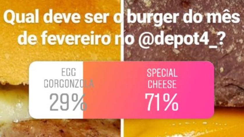Duelo depot4 burger do mês fevereiro 2