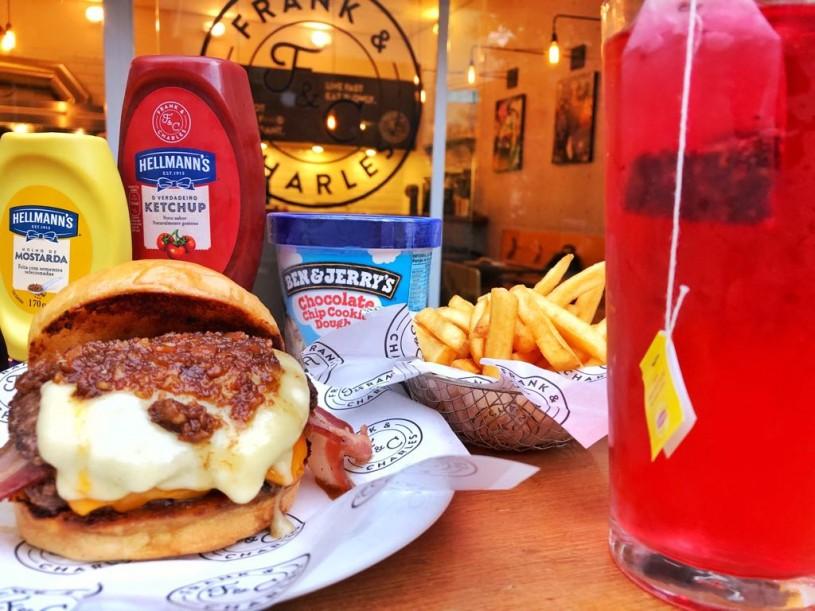 the burger league frank & charles
